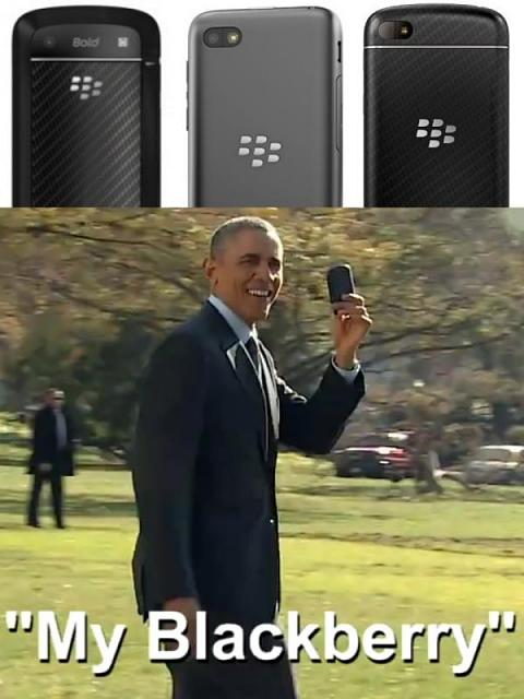 Obam blackberry phone, Prosto i bezpośrednio o telekomunikacji, Andrzej Miłkowski
